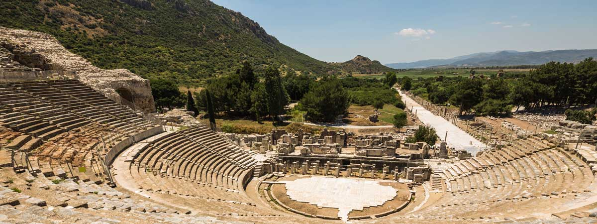 Large Ancient Amphitheater at Ephesis